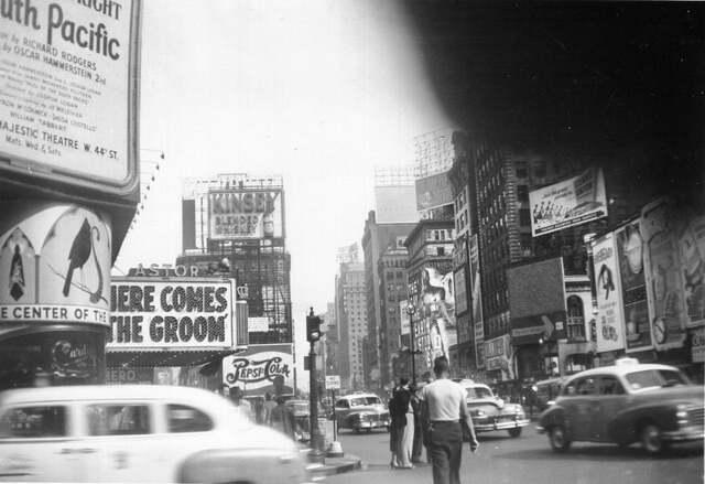 1951 photo courtesy Al Ponte's Time Machine - New York.