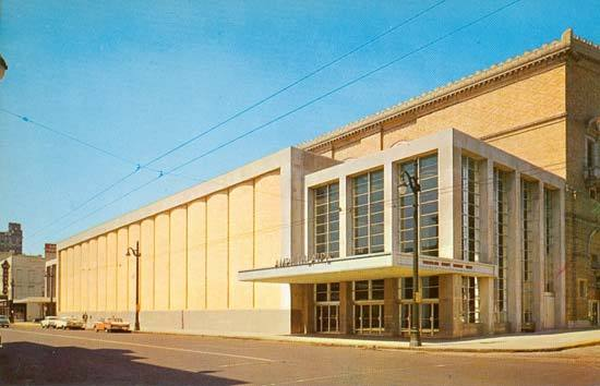 Ellis Auditorium in the 1960s