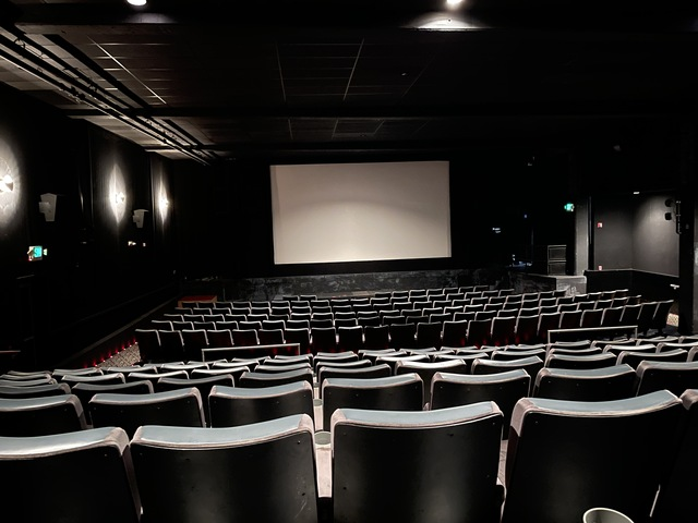 """9-18-21 set to """"flat"""" the larger, Right auditorium"""