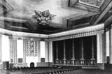 <p>Vintage photograph of the auditorium in the 1940's.</p>