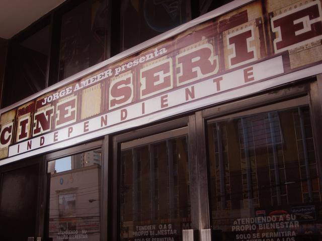 Cines Alhambra - Vía España  front
