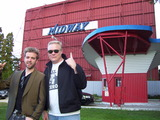 """[""""\""""CHILLERAMA\"""" premiere at Midway Drive In Sept., 2011 """"]"""