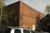 """[""""Rear exterior auditorium of the former Majestic Theatre in 2008.""""]"""