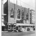 Griffin Theatre under construction in 1912.