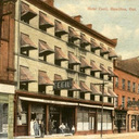 Vintage Postcard of the Cecil Hotel on James Street.