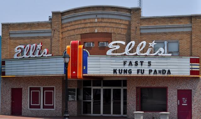 Ellis Theatre, Perryton, TX