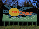 Concept art - Sunset Drive-In restored Box-OfficeMarquee