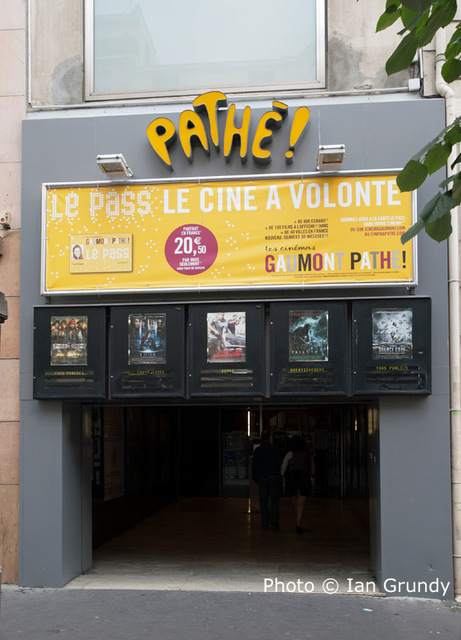 gaumont pathe paris in nice fr cinema treasures. Black Bedroom Furniture Sets. Home Design Ideas
