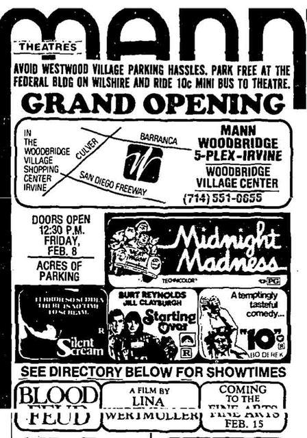 Woodbridge Theatre Grand Opening