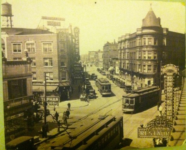 Diversey Theatre circa 1920's. Photo courtesy of Reddit.