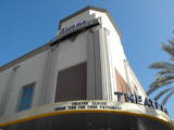Marquee of former Mann Glendale Marketplace Theatres