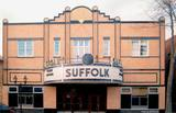 Suffolk Theatre facade 1995