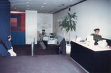 <p>09 – Cinema II lobby stripped and ready for renovation in 1988.</p>