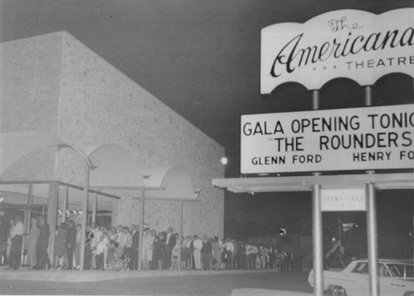 Americana Theatre 1965