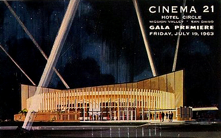 Cinema 21 Program Book Cover, 1963