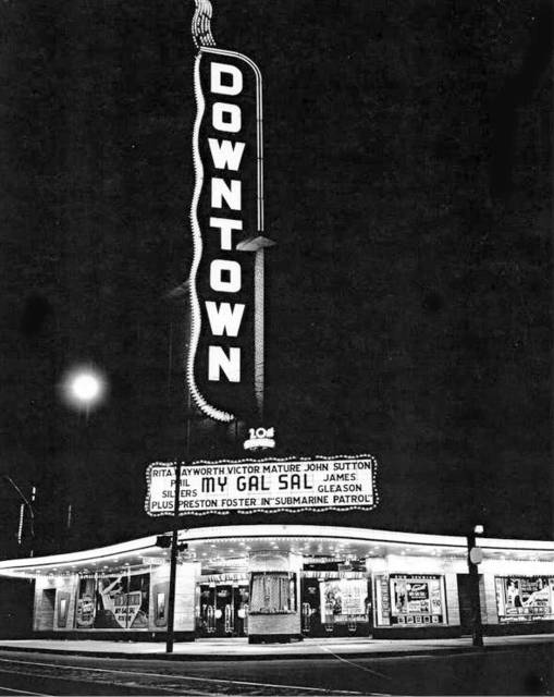 Downtown Theatre 1942