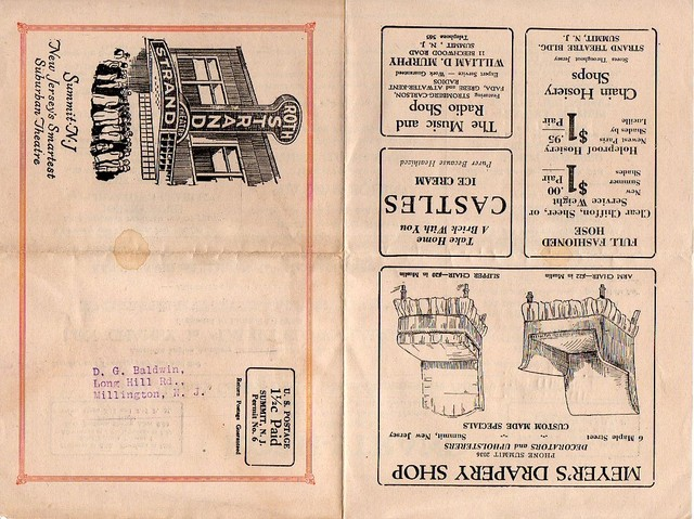 Roth-Strand Theater Brochure 1928