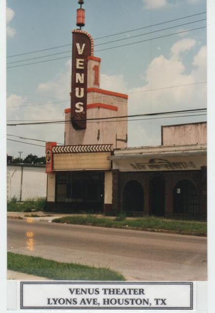 Venus Theater, Houston  Tx