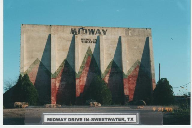 Midway Drive In, Sweetwater  Tx  2001