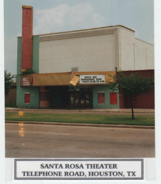 Santa Rosa, Houston  TX  1997