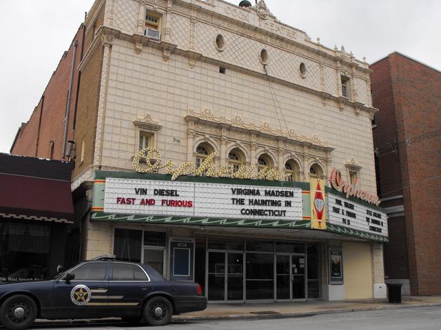 Orpheum Theatre  Okmulgee, OK  April 2009