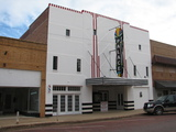 Palace Theater, Childress, TX, photo made 12-4-2012