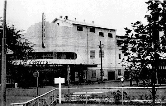 Hoyts Civic Bankstown in 1960