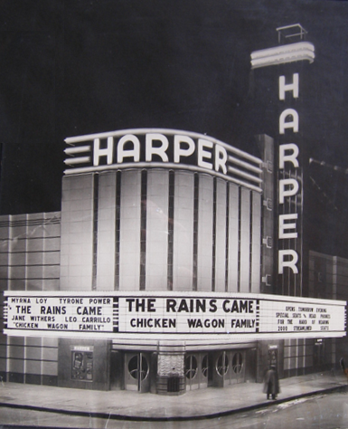 1939 Opening of Harper Theater in Detroit