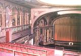 View from balcony rail left towards procenium & stage