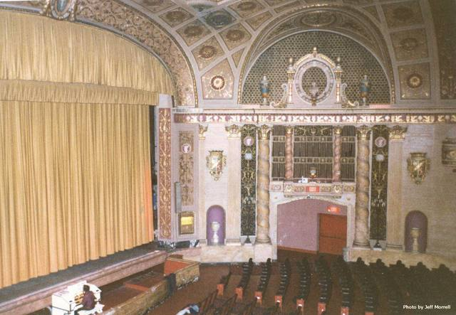Walker Theatre - stage right organ chamber & details