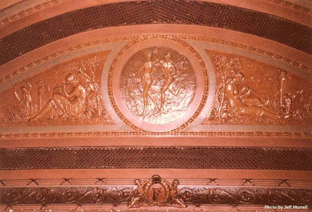 View of proscenium arch