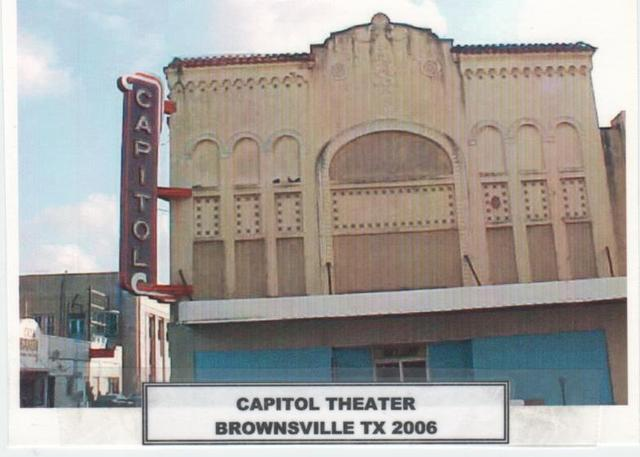 Capitol Theater,  Brownsville  Tx
