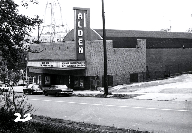 Alden Movie Theater 1966