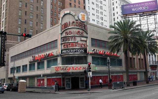Walgreens & Cine Royale Theatre, New Orleans, LA