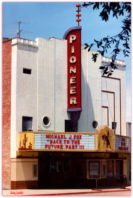 Pioneer Theatre Falfurrias TX...Don Lewis