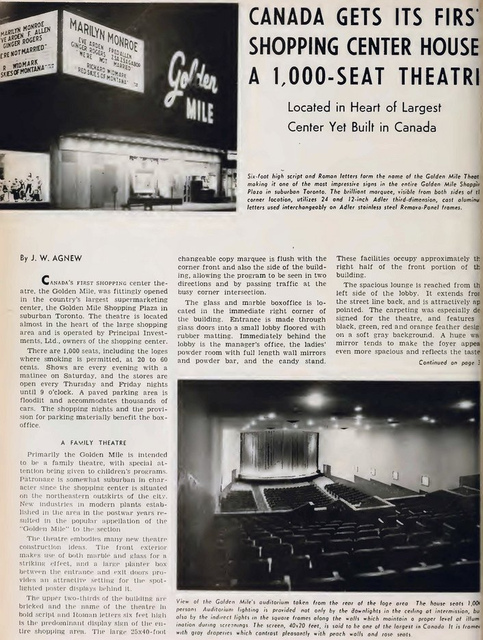 Golden Mile Plaza Theatre