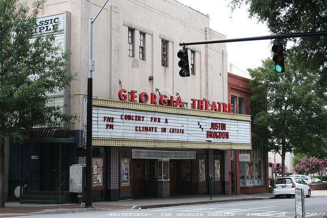 Georgia Theatre In Athens Ga Cinema Treasures