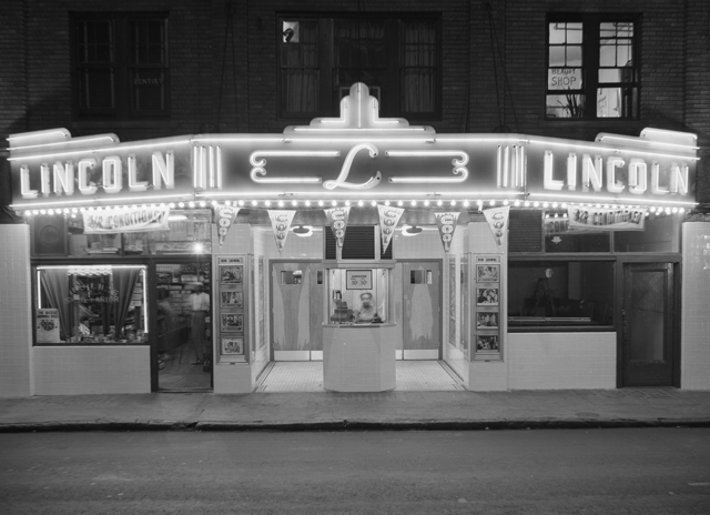 The Lincoln Theater circa 1950