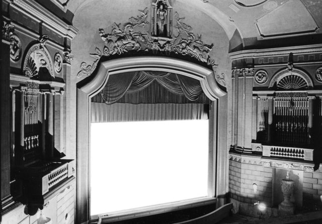 Proscenium of the Carolina Theater, 407 West Fourth Street, Winston-Salem NC