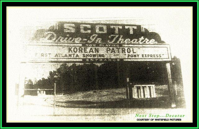 The Scott Drive-In Theatre