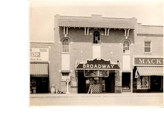 Broadway Theater 1940 Myrtle Beach, SC