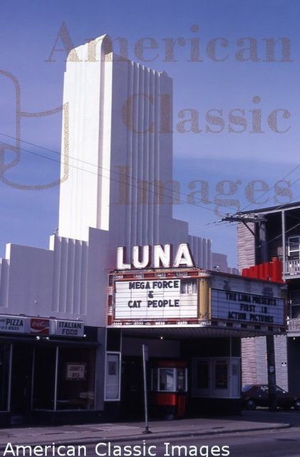 Luna theater after being shut down