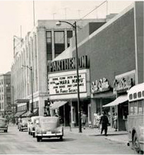 PARTHENON Theatre, Hammond, Indiana in 1952.