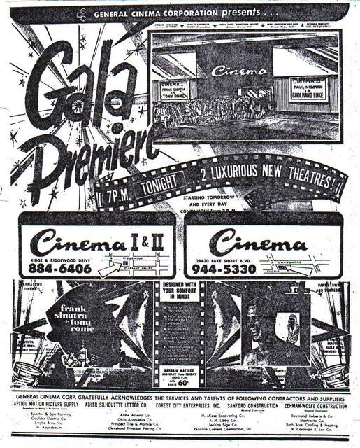 Parmatown Mall Cinemas in Parma, OH - Cinema Treasures
