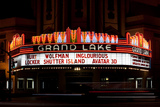 Grand Lake Theater Neon Marquee at Night