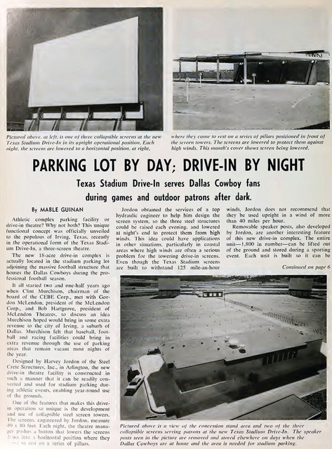 Texas Stadium Drive-In