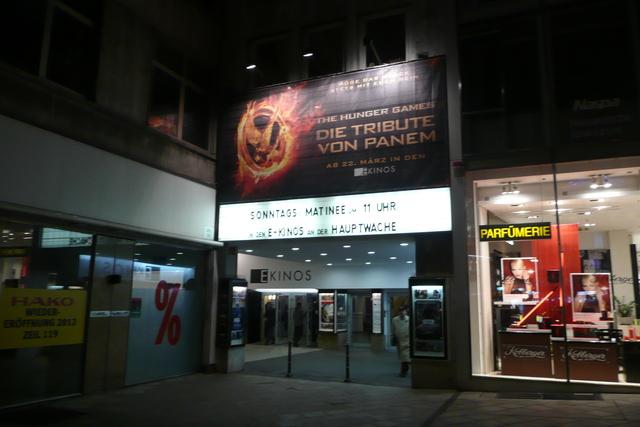 E Kinos, Frankfurt, February 2012