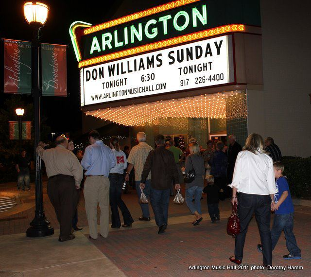 Don Williams in concert at the Arlington Music Hall