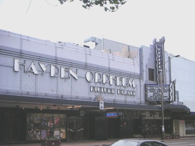 Hayden Orpheum Picture Palace
