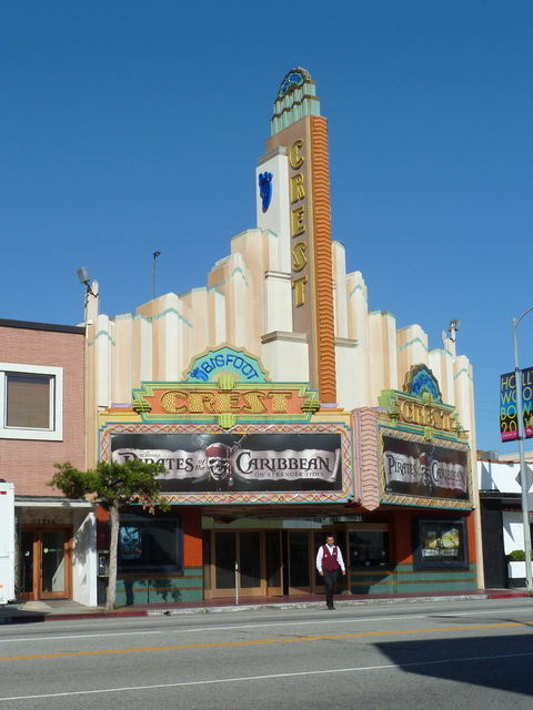 Crest Theatre In Los Angeles Ca Cinema Treasures